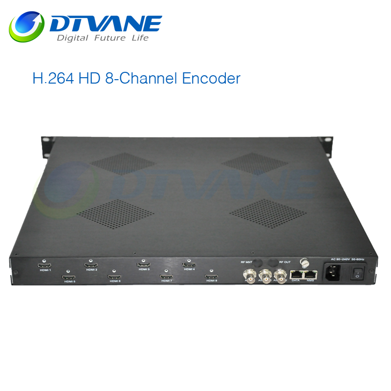H 265 HEVC SDI Encoder 8-Channel H 264 HDMI Encoder IPTV Stream Server With The Best Youtube Performance
