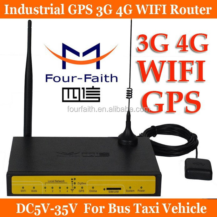F7834 lte gps router Cellular GPS 4G LTE Modem Router for AVL Vehible Monitoring
