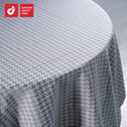 Hot Selling Hand Made 100% Cotton Embossed Cocktail Dining Patio Banquet Table Cloth/table Cover For Wholesale