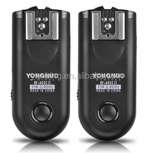 YONGNUO Wireless Camera Shutter Release & Fash Trigger RF-603II C3 For Canon 5DIII 6DII 700D 80D