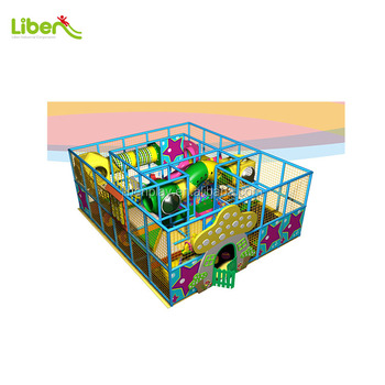 Small Indoor children entertainment playground LE.BY.003 for kids daycare center