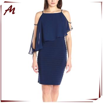 Fábrica De Moda De Las Mujeres Gasa Vestido Casual Para Señoras Gordas Buy Vestido Ocasional De La Gasavestido Casual Para Señoras Gordasseñoras