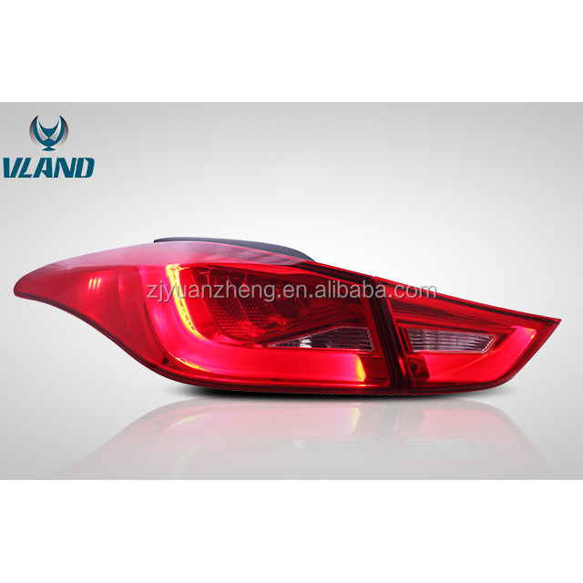 For Vland Auto Cars Accessories Elantra 2012-Up LED Tail Lamp