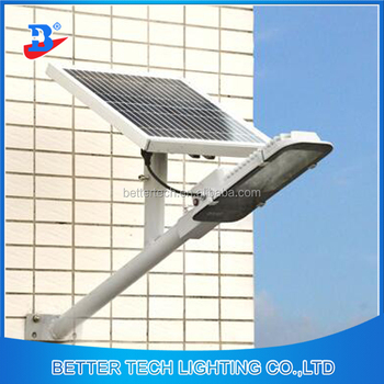Remote Controlled 15w Solar Panel Wall Mounted Lights Outdoor Led Street Light
