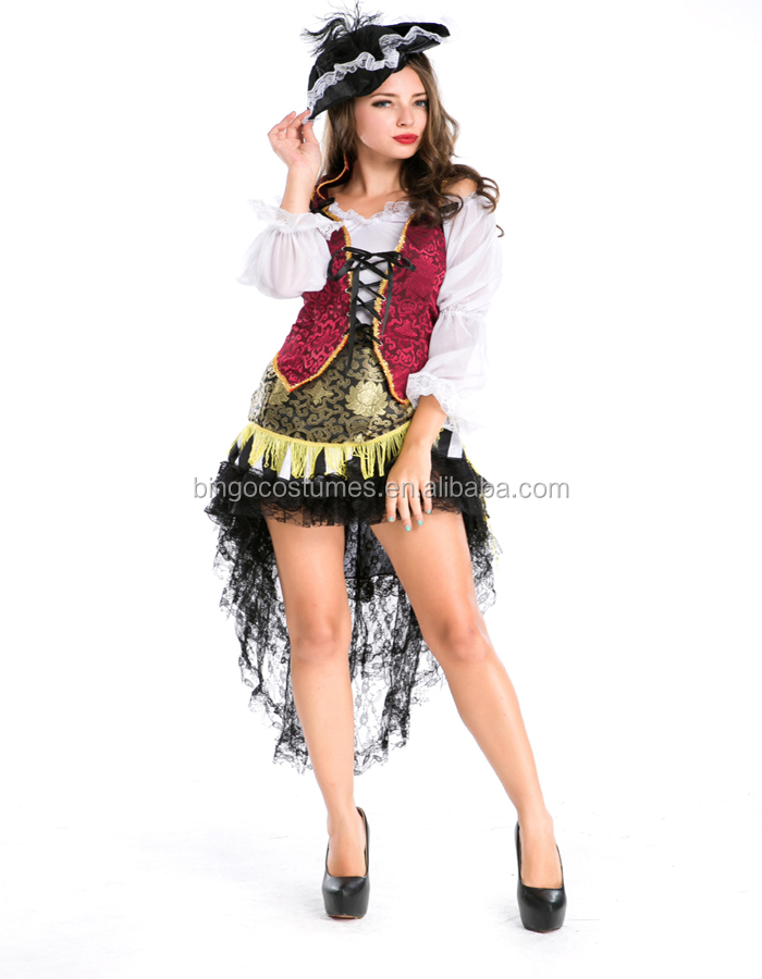 Wholesale Sexy Pirate Dance Costumes for Women