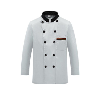 Long sleeves Poly/cotton Chef Waiter Coat Hotel/Restaurant/Bar Chef Jacket Uniforms