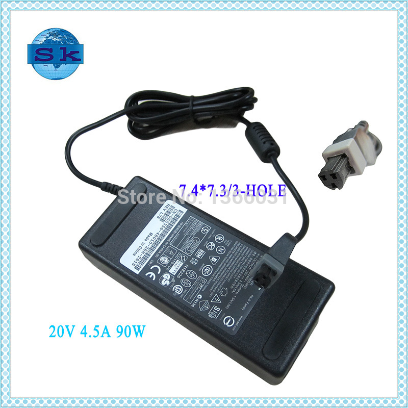 20V 4.5A 90W Laptop Adapter For DELL PA9 LATITUDE C540 C640 C840 3 PIN