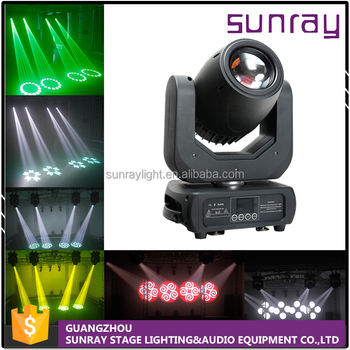High Output White Led 16 Channels Dmx512 Control Dj Stage Light Sharpy Beam Spot 150W Led Moving Head Light