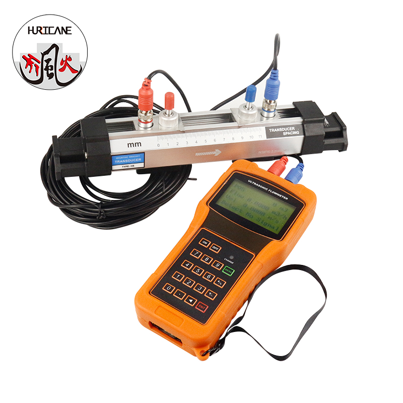 high accuracy portable handheld ultrasonic gas/oxygen/water flow meter