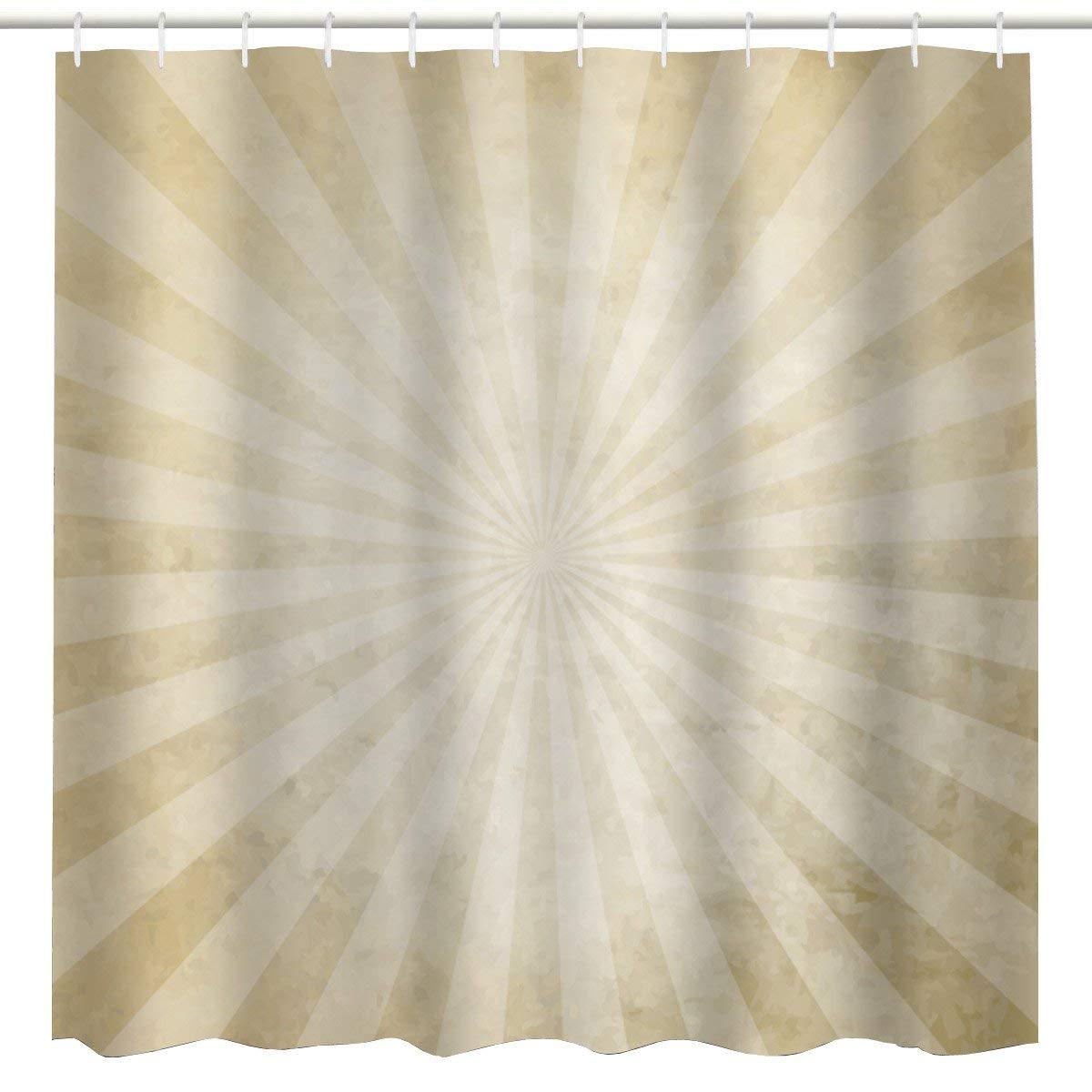Buy Cynthia Rowley Fabric Shower Curtain Tan Light And Dark