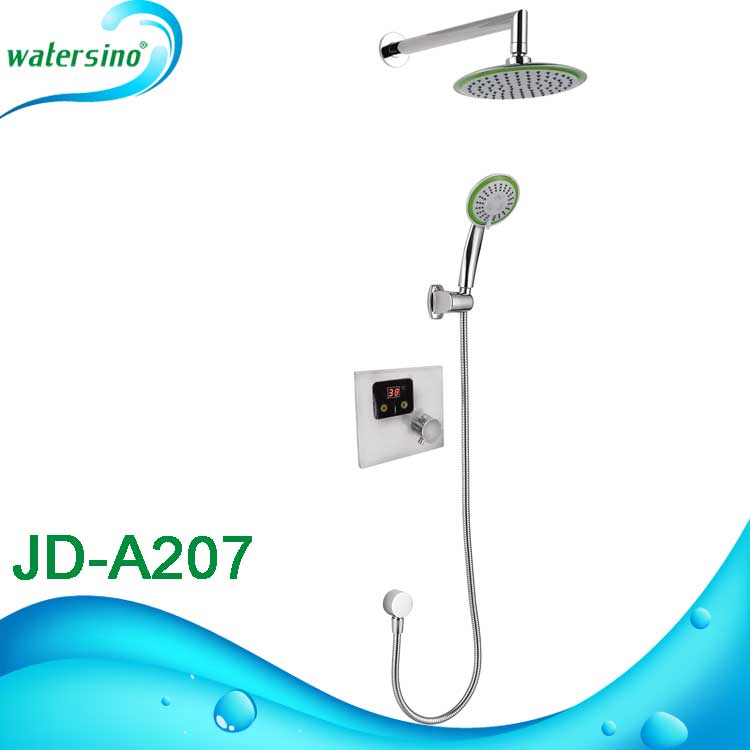 JD-A207 Digital rainfall Thermostatic sensor shower