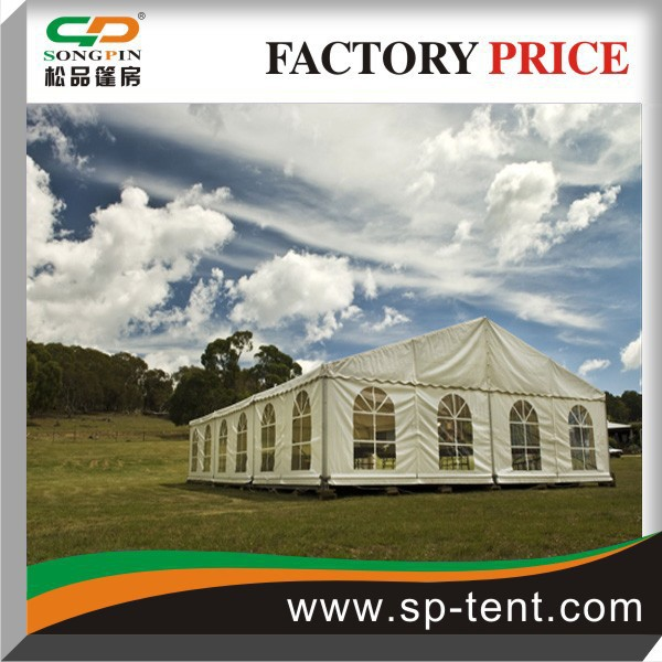 20x35 large outdoor fireproof used industrial tent for sale
