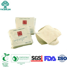 Eco Friendly Unbleached Wheat Straw Dinner Napkin Paper