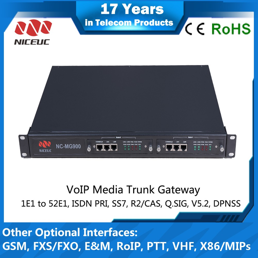Best Quality VoIP Media Gateway with 8 ports E1 240 channels