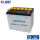 Low price white durable 12v 3ah motorcycle charged battery
