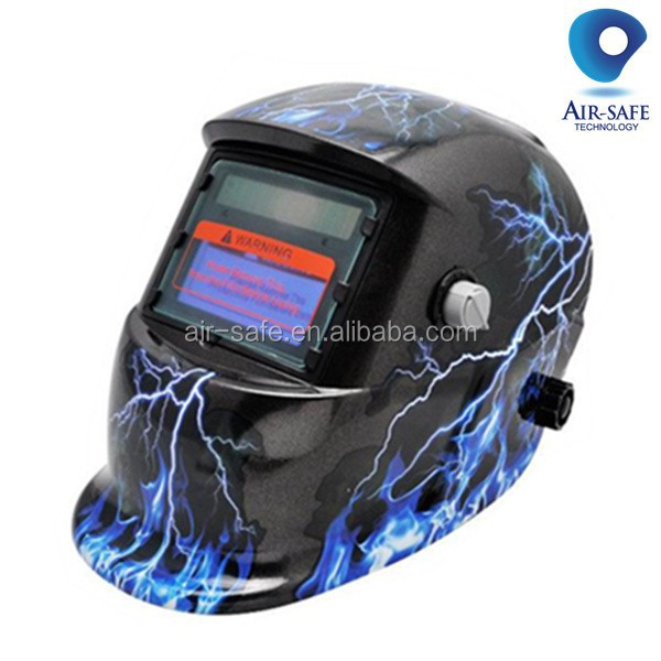 Solar powered y PP material del casco de soldadura