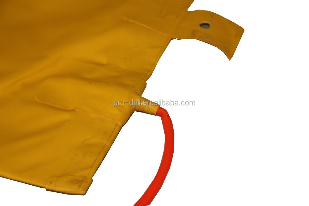 1m X 1m 50ton Special Pvc Stone Pushing Air Bag After Diamond Wire ...