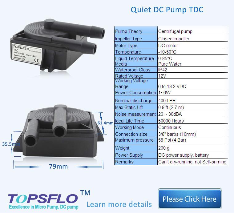 Topsflo Micro Dc Submersible Pump,Centrifugal Submersible Pump ...