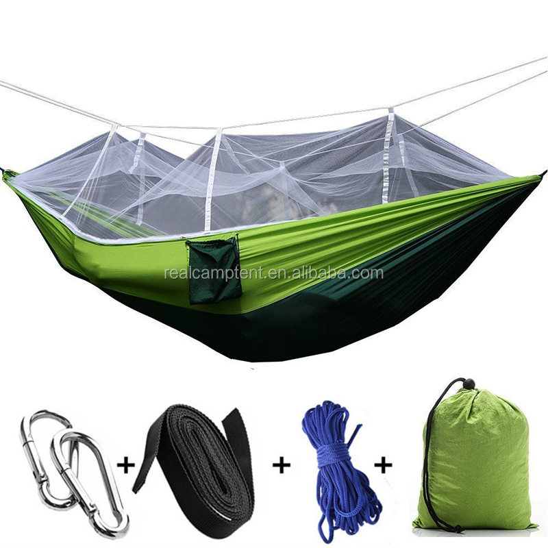 Best ripstop nylon tree hamac of double parachute hammock