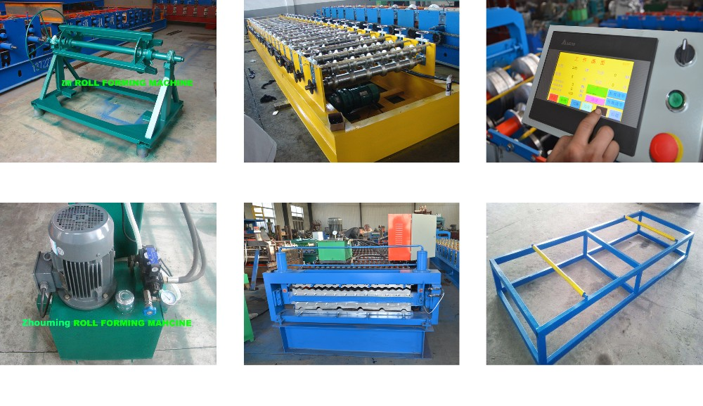 New Color Steel Metal Sheet Roll Forming Machine Made In