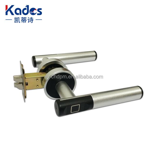 Keyless Biometric Fingerprint Door Handle Lock