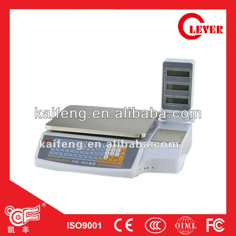 Acs-p2 Printing Scale Digital Price Computing Barcode Printer ...
