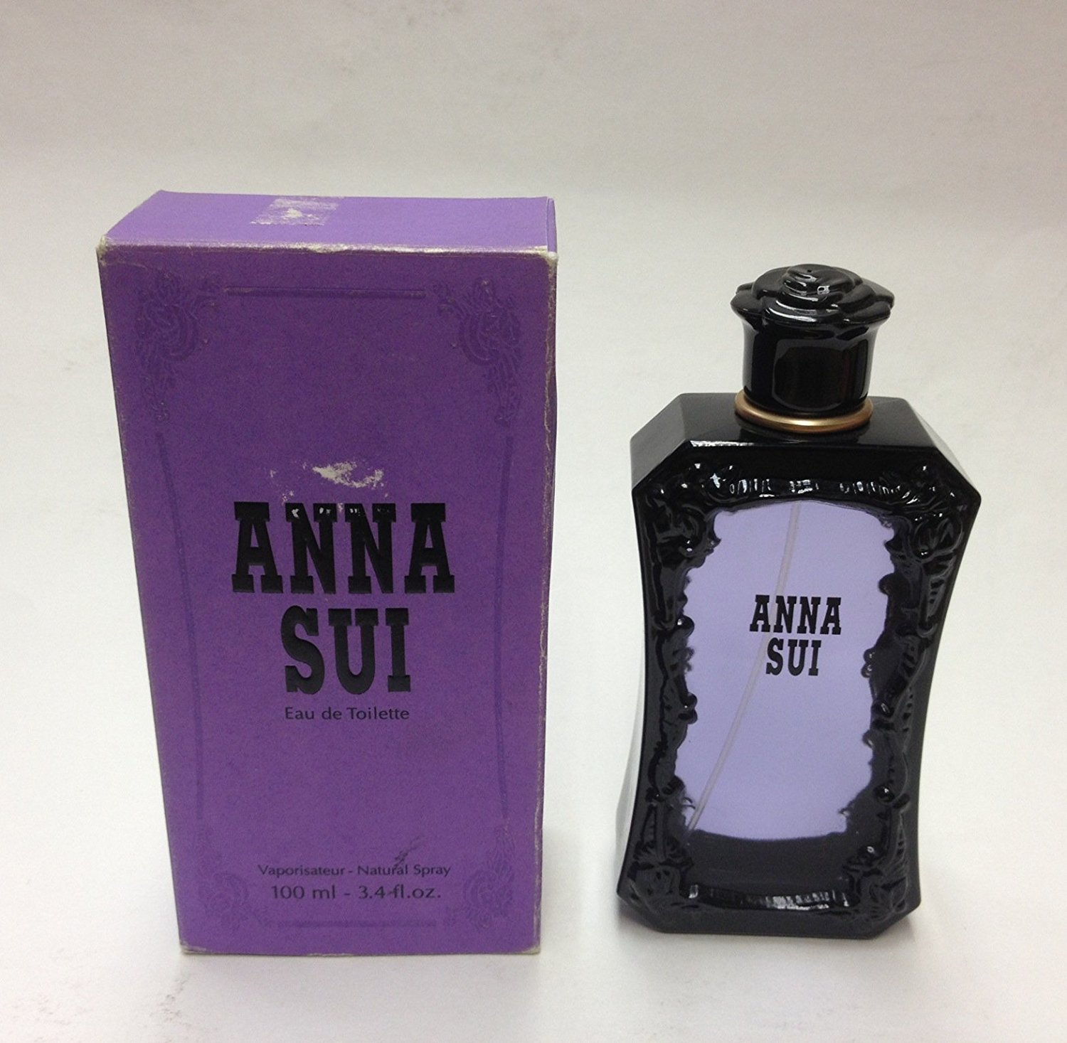Anna Sui By Anna Sui For Women. Eau De Toilette Spray 3.4 Ounces (Damaged Box)