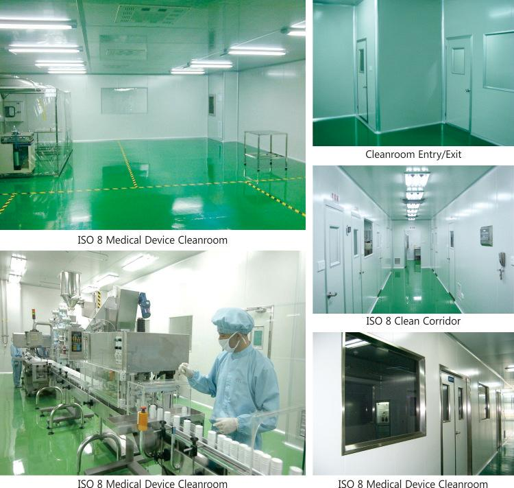 Cleanroom project supplier iso class medical clean room with clean HVAC system