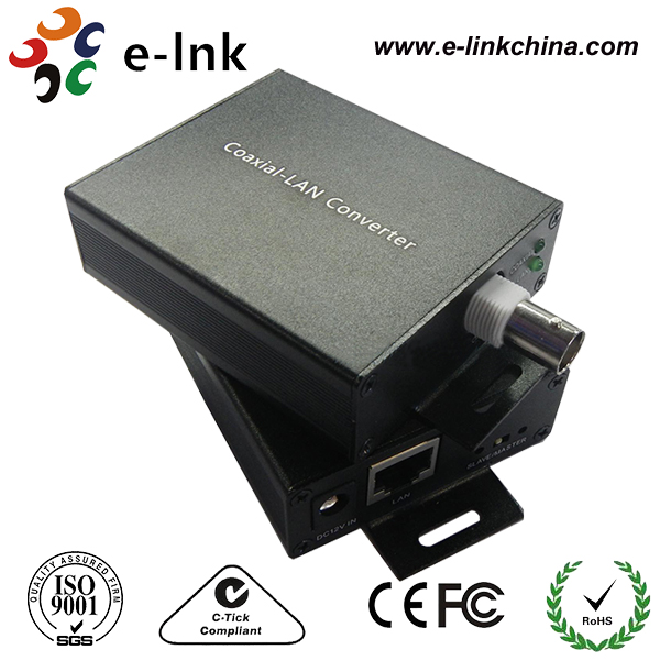ip converter network extender coax cat-5 network tcp/ip pelco axis two wire