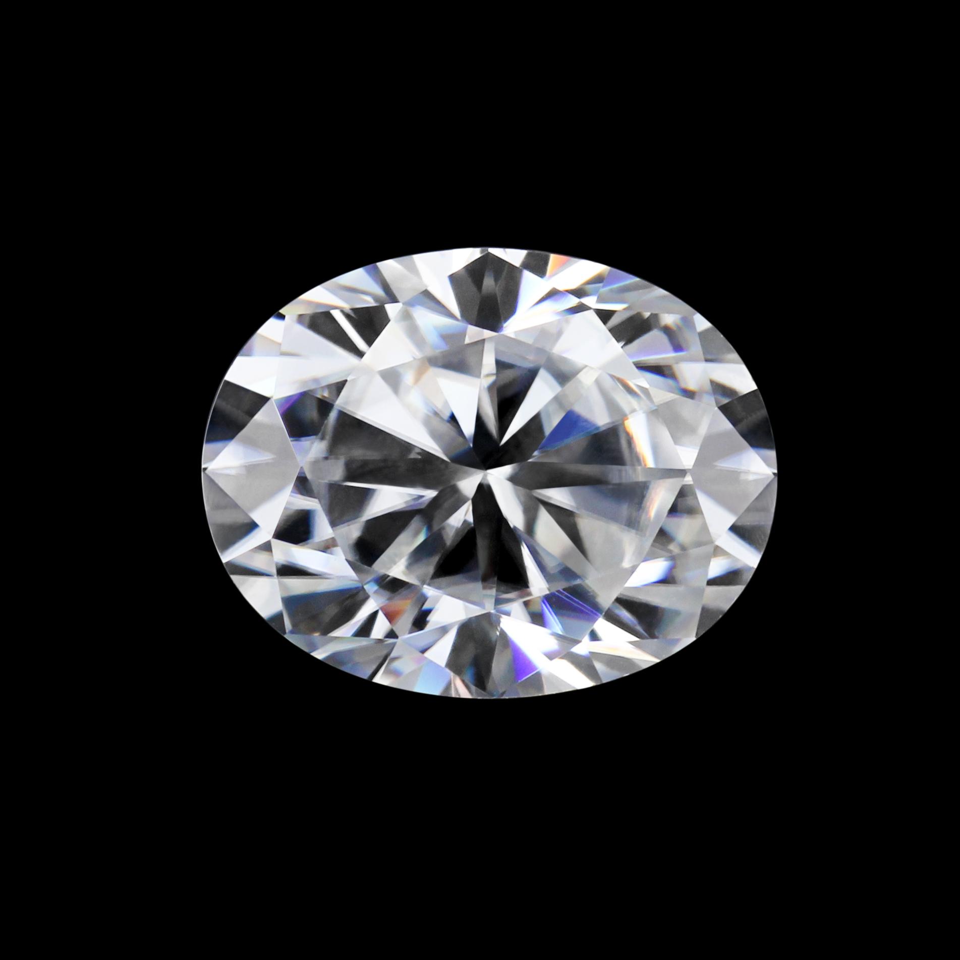 Starsgem оптовая торговля EF VVS синтетический драгоценный камень овальной огранки Свободный Муассанит
