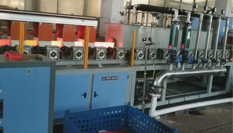 China factory spring wire induction heating machine