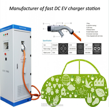 Dc Fast Charger Stations With Chademo Ccs Gbt Connectors