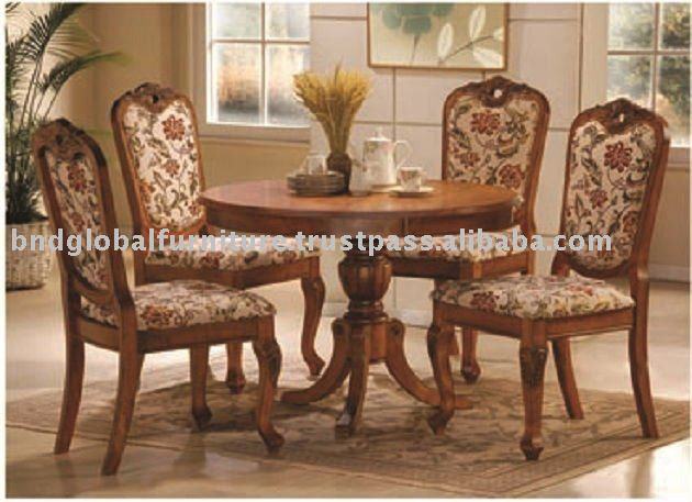 AUSTIN, BND7724FC, ROUND DINING TABLE SET