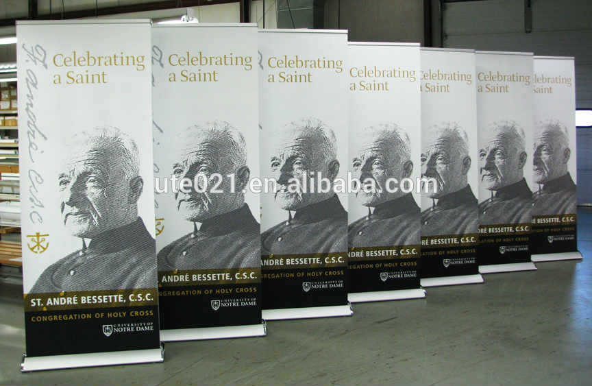 High qualitaty Aluminum roll up banner,Retractable banner stand