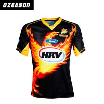 2016 digital printing black new design cricket jersey online for team 2adeb88d50b5