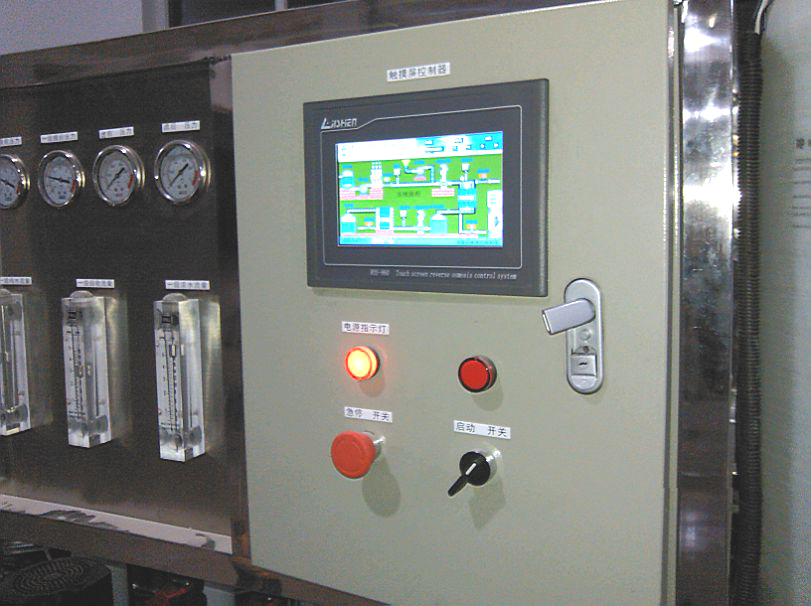Online Touch Color Screen Reverse Osmosis Controller For