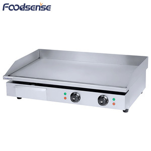 Large Commercial 4.4KW Table Top Electric Flat Griddle