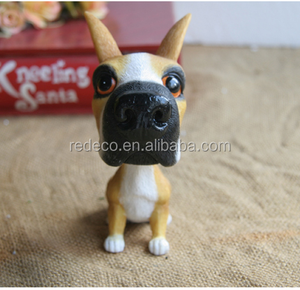 OEM polyresin dog animal bobblehead
