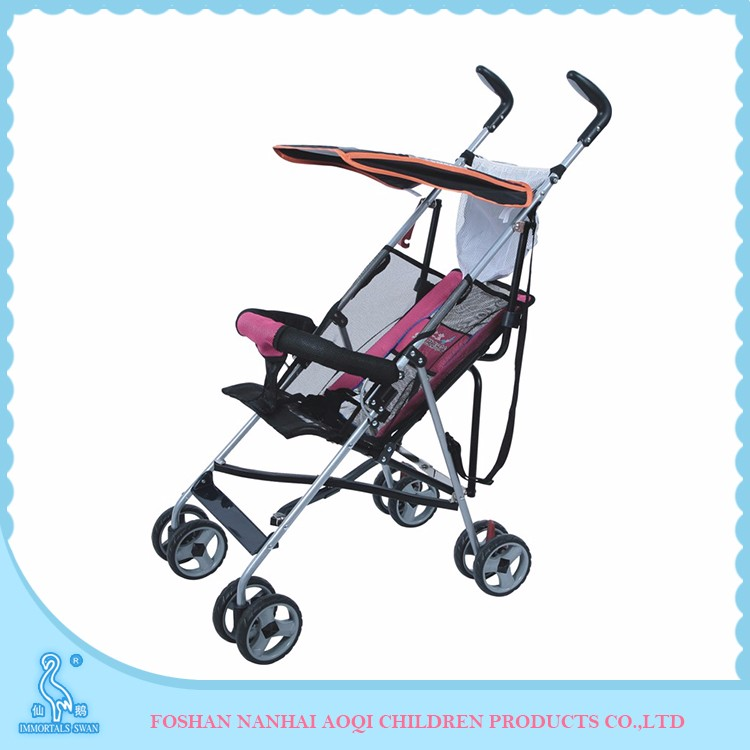 2 position adjustment Lazy back second hand baby stroller