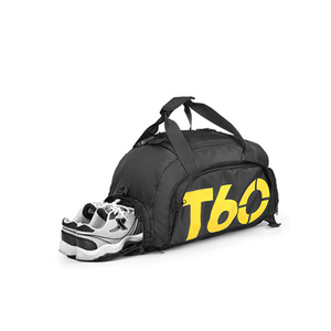 Wholesale durable roomy gym sport travel bag with shoes compartment duffle bag supplier