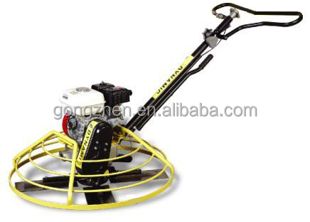 DYNAMIC honda engine and long handle power trowel