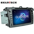 Quad Core Android 4 4 4 Car DVD Player GPS for Toyota Corolla 1024 600 HD