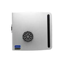 fan desktop thin client computer with quad core 4 threads ,with cpu Intel celeron N3160 Support 64 bit computing.