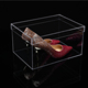 acrylic storage box Clear Acrylic Shoe Display Case / Perspex Shoes Box