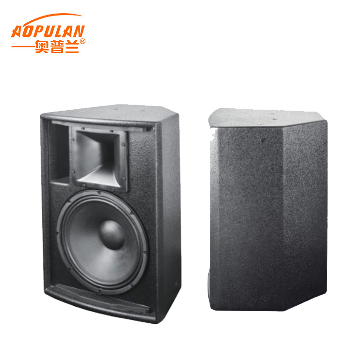High end stage sound system full range waterproof/wear-resistant bass speaker