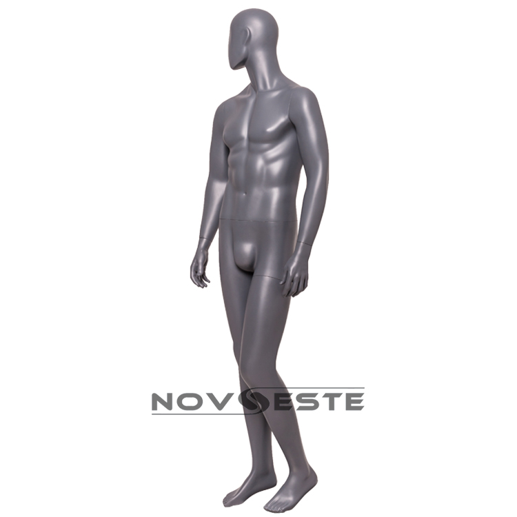 full body male mannequin standing straight hands ALEX-03