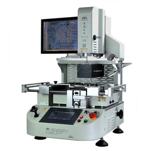 Zhuomao Infrared soldering station ZM-R6200 automatic bga rework station with laser positioning to repair IC