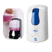 hotel bar wall mounted automatic bottle refill liquid soap dispenser