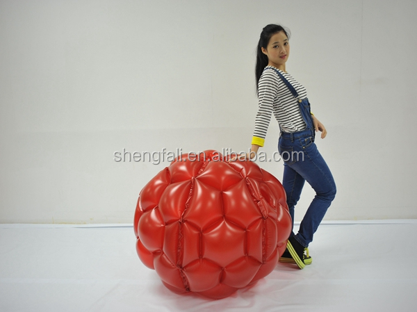 PVC inflatable buddy bumper ball giga ball for kids