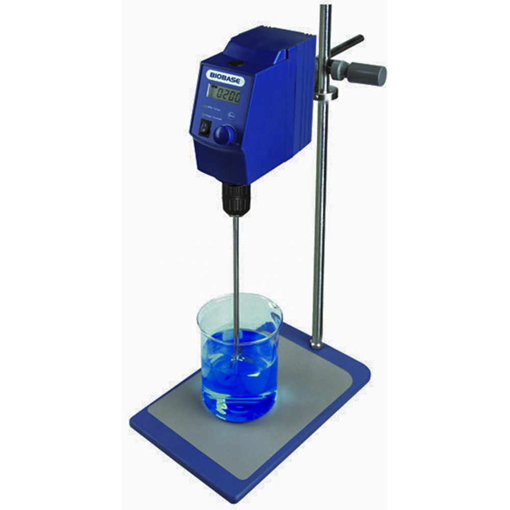 With Plate Stand Laboratory Universal Portable LCD Display Overhead Stirrer